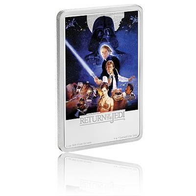 1 Oz Silber Proof Die Rückkehr der Jedi Ritter Poster - drittes Motiv 2017