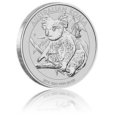 Austral. Koala 1kg 999/1000 Silber 2018