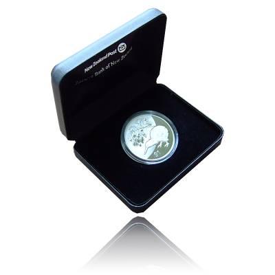 Neuseeland Kiwi  1 Unze Silber  (2013) Polierte Platte