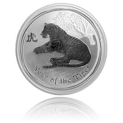Australien Lunar Tiger 1oz Silber (2010)