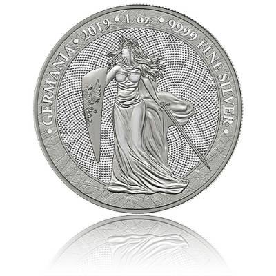 1 Unze Silber Germania 5 Mark (2019) 1. Ausgabe