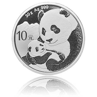 China Panda 30 gramm Silber (2019)