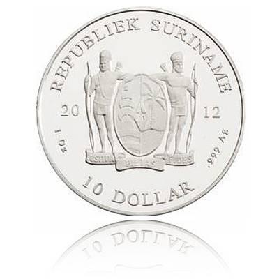 Surinam 1 Unze Silber 2013