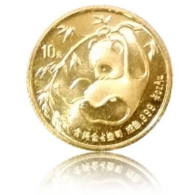 China Panda 1/10 Unze Gold (1985)