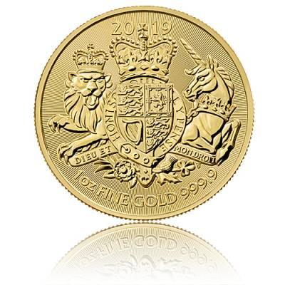 Goldmünze 1 Unze Royal Arms Großbritannien 2019