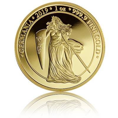 1 oz Gold Germania Proof 100 Mark (2019) 1. Ausgabe