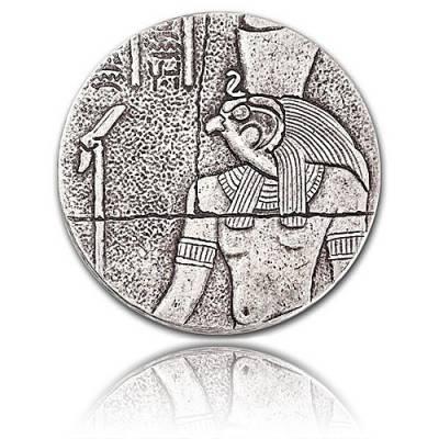 2 oz Silbermünze Republic of Tschad Horus (2016)