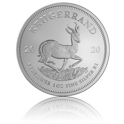 Silbermünze 1 Unze Krügerrand 2020