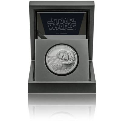 1 Unze Silbermünze PP Star Wars Classic Lando Calrissian 2020 - 15. Motiv