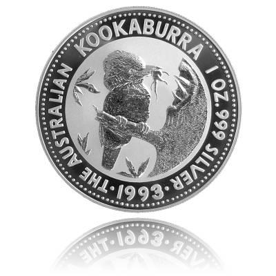 Austral. Kookaburra 1 Unze Silber (1993)