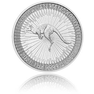 1 oz Silber Austr. Känguru Perth Mint 999.9/1000 Silber (2021)