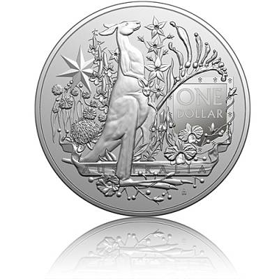 Silbermünze 1 oz Australien RAM Coat of Arms 2021