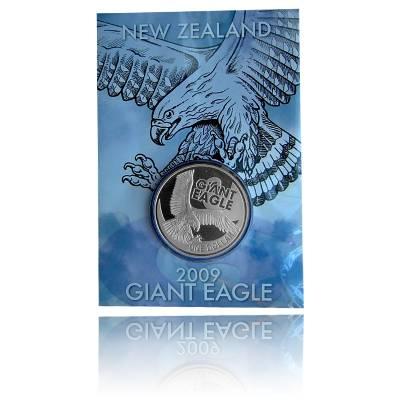 Giants of New Zealand 1 Unze Silberadler (2009)