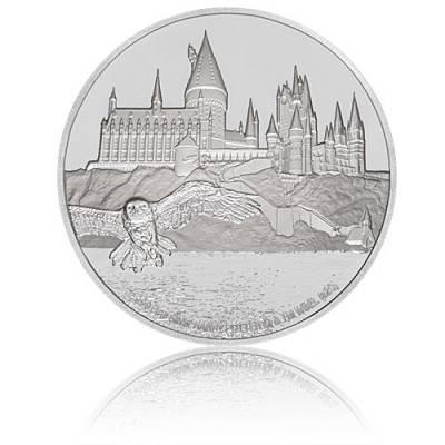 1 oz Silbermünze Harry Potter Classic - Hogwarts Castle 1. Motiv 2020