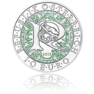 10 Euro Silbermünze Himmlische Boten Raphael – Der Heilungsengel PP 2018