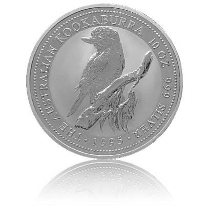 Austral. Kookaburra 10 Unzen Silber (1995)