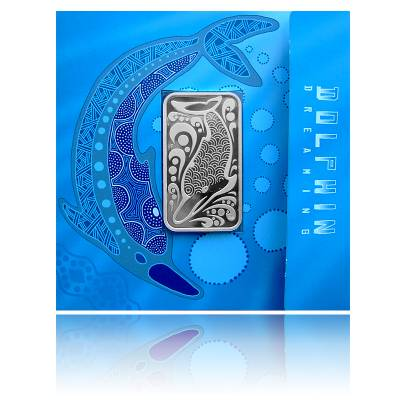 Dolphin Dreaming 1 Oz Silber (2010)