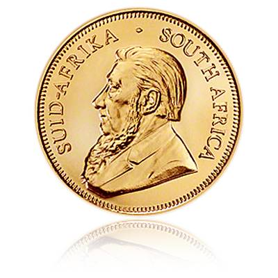 Krügerrand 1/10oz Goldmünze (aktueller Jahrgang)