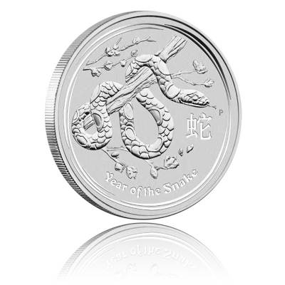 Australien Lunar Schlange 1oz Silber (2013)