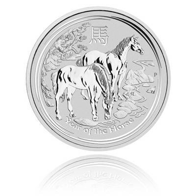 Australien Lunar Pferd 10 Unzen Silber (2014)