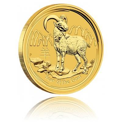 Australien Lunar Ziege 1/10oz Gold (2015)