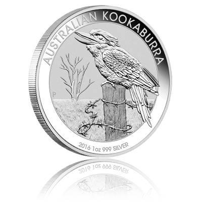 Austral. Kookaburra 2016 1 Unze 999/1000 Silber