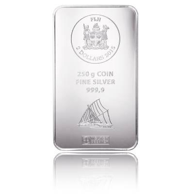 250 gramm Silber Argor Heraeus Fiji Münzbarren