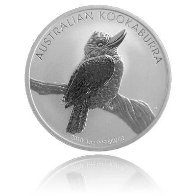 Austral. Kookaburra 2010 1 Unze 999/1000 Silber
