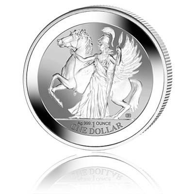 1 oz Silbermünze Pegasus-Athene Reverse Proof 2017