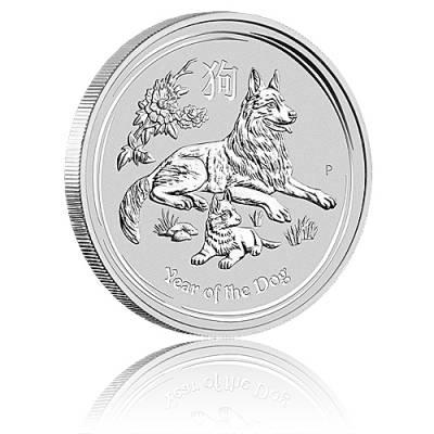 Australien Lunar Hund 1kg Silber (2018)