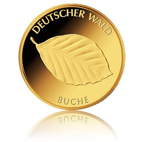 Goldmünzen Günstig Kaufen 20 Euro Deutscher Wald Kiefer