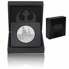 1 Unze Silbermünze PP Star Wars Classic Luke Skywalker 2017 - 7. Motiv