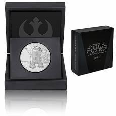 1 Unze Silbermünze PP Star Wars Classic R2-D2 2016 - 4. Motiv