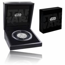 2 Oz Silbermünze Star Wars Han Solo HighRelief 2017 zweites Motiv