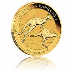 Australien Känguru 1/2 Unze Gold (2018)