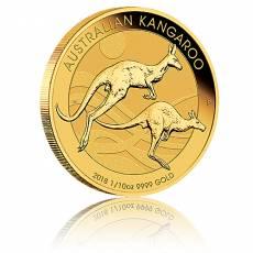 Australien Känguru 1/10 Unze Gold (2018)