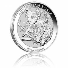 Australischer Koala 1 Unze Silber (2018)