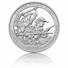 5 oz Silber US- Mint Indiana George Rogers Clark (2017)