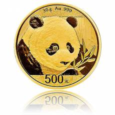 China Panda 30 gramm Gold (2018)