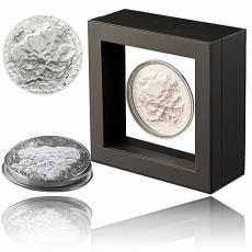 5 Unzen Silbermünze The 7 Summits Denali Mount McKinley Ultra High Relief erstes Motiv 2016