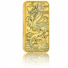 1 oz Goldmünze Perth Mint - Rectangular Dragon 2018