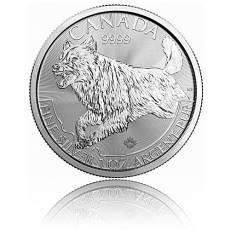1 Unze Silbermünze Canada Predator Serie - Wolf 2018