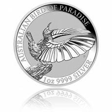 1 Unze Silbermünze Australien Perth Mint Birds of Paradise - Victoria Paradiesvogel 2018