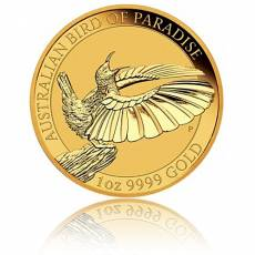 1 Unze Goldmünze Australien Perth Mint Birds of Paradise - Victoria Paradiesvogel  (2018)