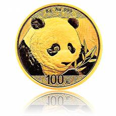 China Panda 8 gramm Gold (2018)