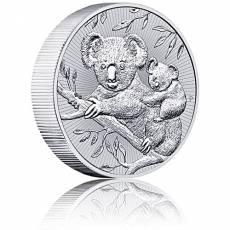 2 Unzen Silbermünze  Australien Piedfort Koala 2018 Next Generation - 1. Ausgabe