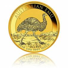 1 Unze Goldmünze Australien Perth Mint Emu  (2018)