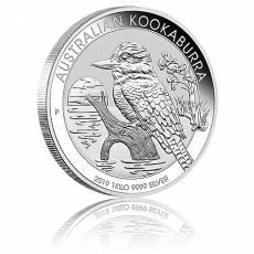 Austral. Kookaburra 1kg 999/1000 Silber 2019
