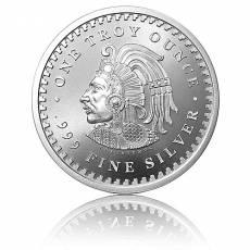 1 Unze Silbermünze Aztec Calendar Golden State Mint