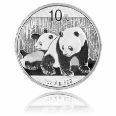 China Panda 1 Unze Silber (2011)